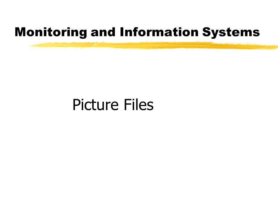 Monitoring and Information Systems Picture Files