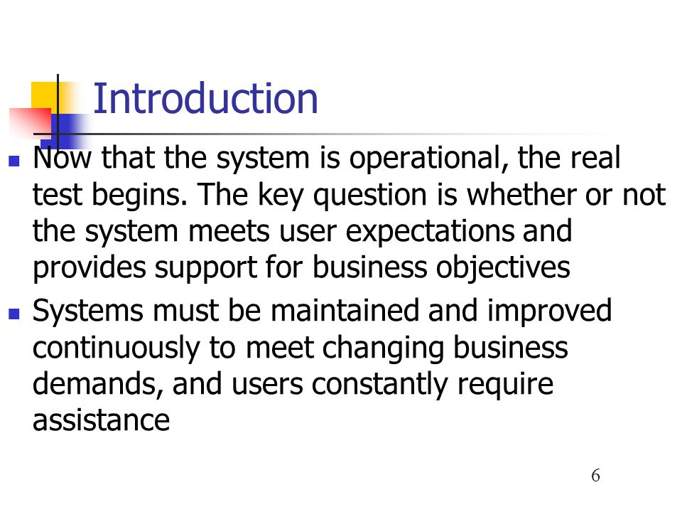 17 Maintenance Activities Perfective Maintenance Involves changing an operational system to make it more efficient, reliable or maintainable Can improve system reliability Cost-effective during the middle of the system's operational life Two techniques you can use in perfective maintenance are reverse engineering and reengineering
