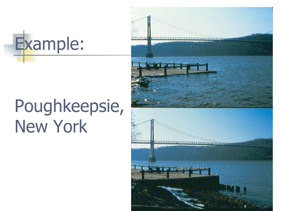Neap tide First Quarter, Last Quarter Lower than usual high tide Fig. 10-12