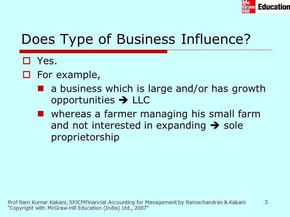 Prof Ram Kumar Kakani, SPJCMFinancial Accounting for Management by Ramachandran & Kakani Copyright with McGraw-Hill Education (India) Ltd., 2007 5  Yes.
