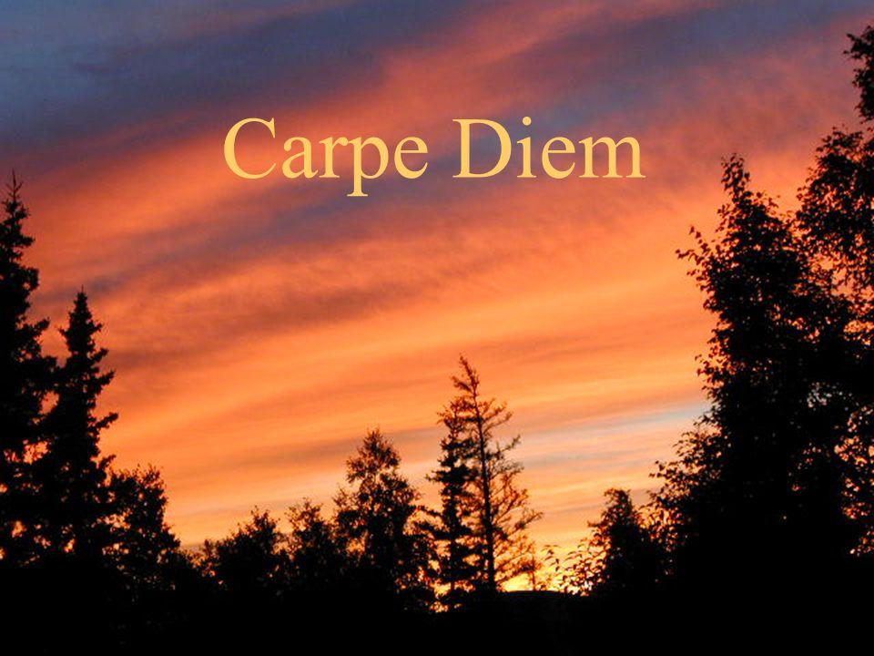 October 10, 2004ICSPP New York City20 Carpe Diem