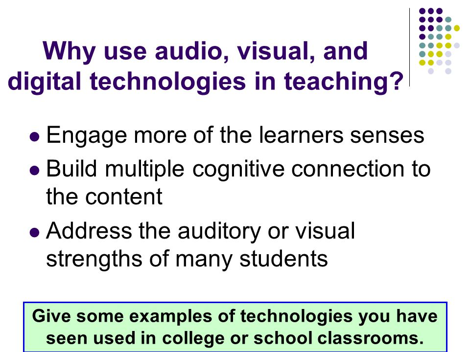 Listening vs Focused Listening Listening—being able to hear and comprehend auditory stimuli Hearing—the physical process of correctly receiving clear, audible sounds Focused Listening—Giving one's full attention to an auditory stimulus What are some things teachers can do to ensure students are focused listening?