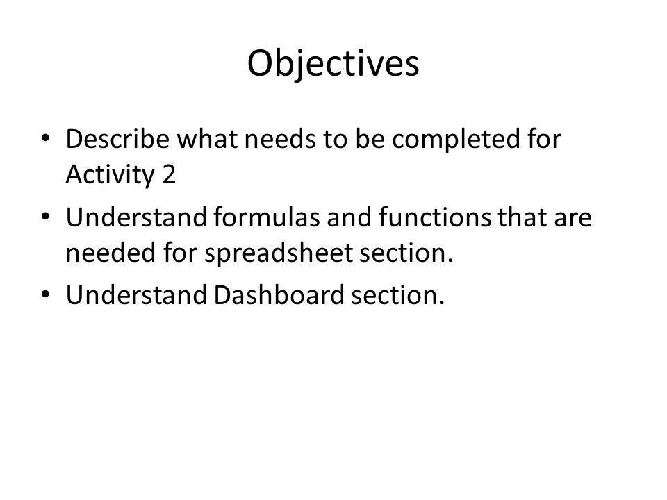 Questions What makes up Activity 2 overall marks.What is meant by modelling.