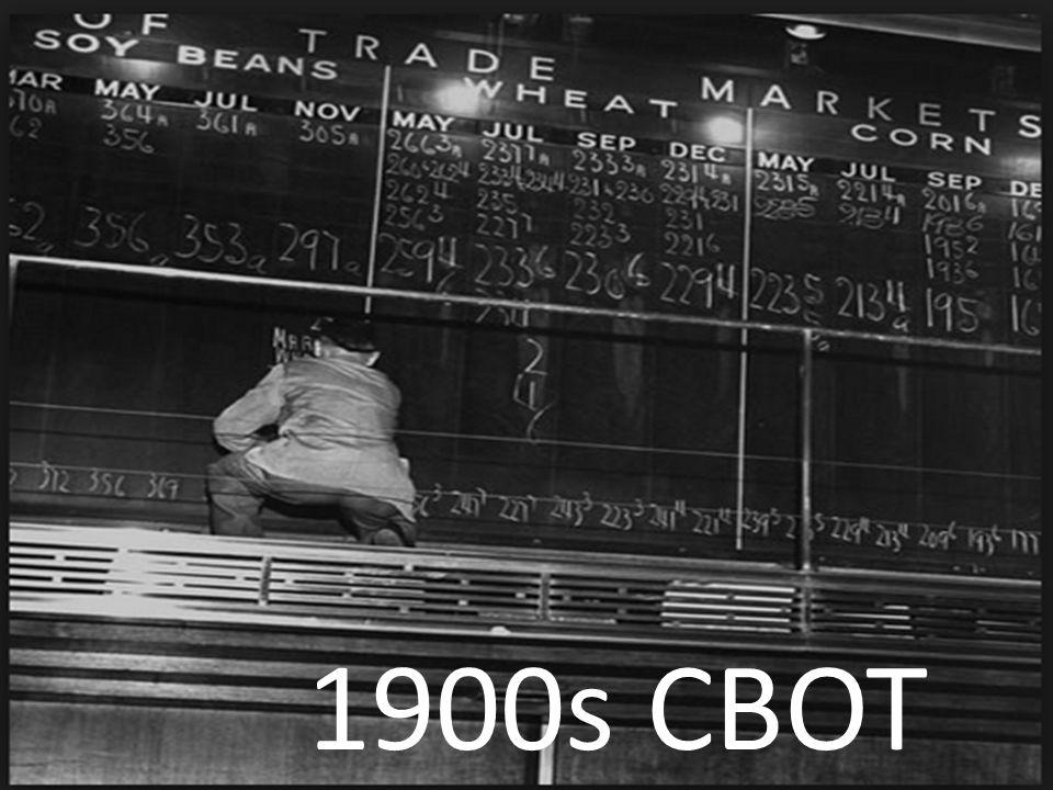 1900s CBOT