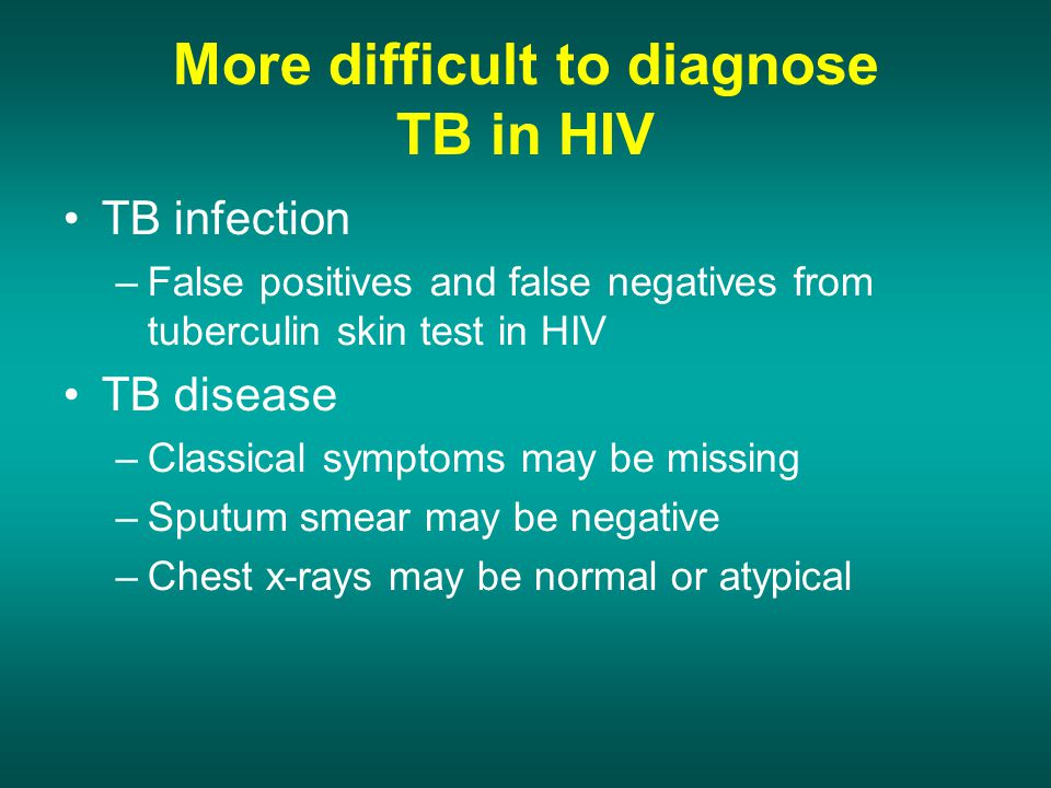More extra pulmonary TB in case of HIV co infection.