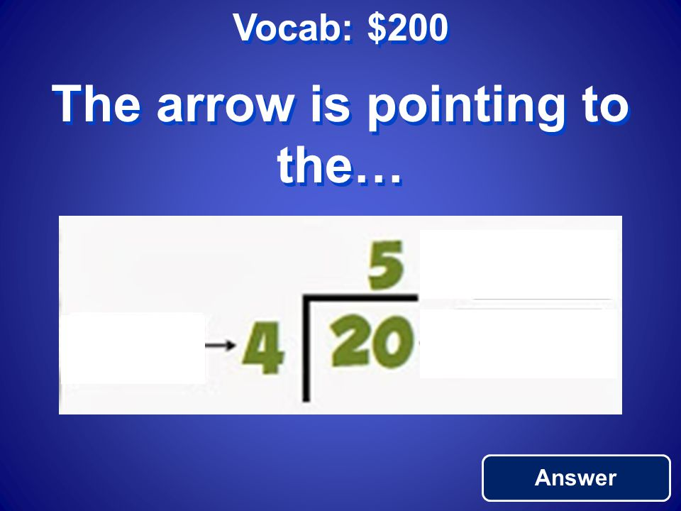 Vocab: $200 Answer The arrow is pointing to the…