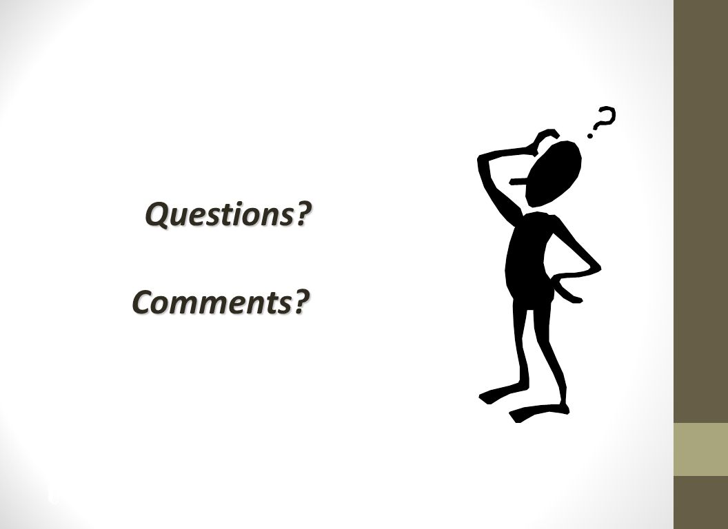 14 Questions Comments Comments