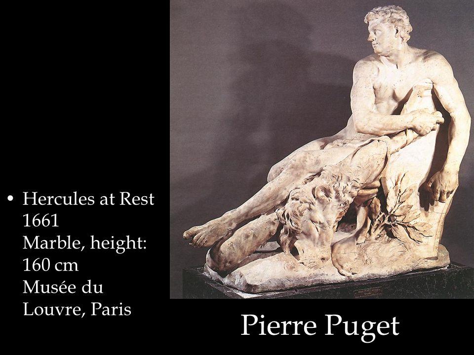 Pierre Puget Hercules at Rest 1661 Marble, height: 160 cm Musée du Louvre, Paris