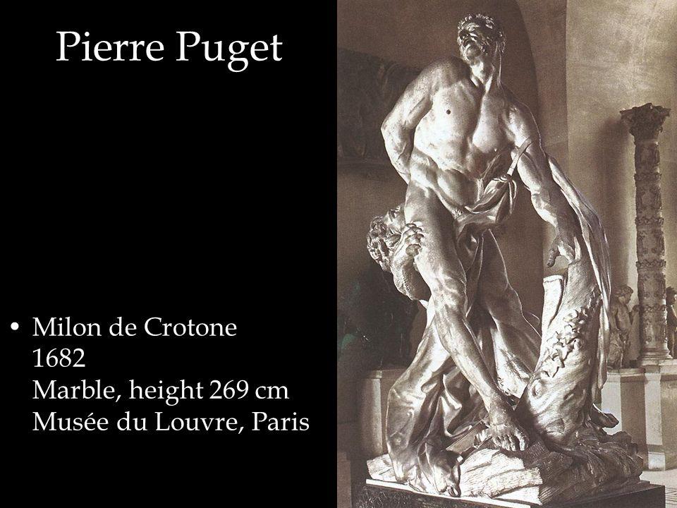 Milon de Crotone 1682 Marble, height 269 cm Musée du Louvre, Paris