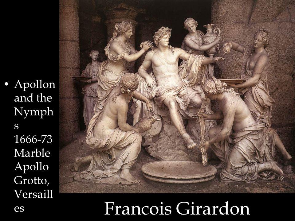 Francois Girardon Apollon and the Nymph s 1666-73 Marble Apollo Grotto, Versaill es