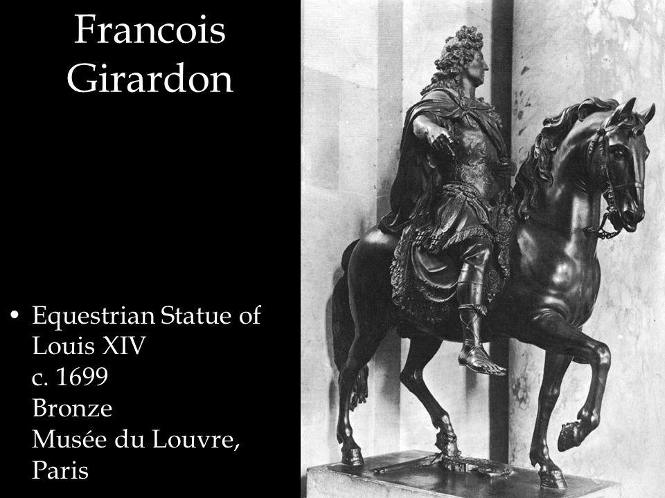Francois Girardon Equestrian Statue of Louis XIV c. 1699 Bronze Musée du Louvre, Paris