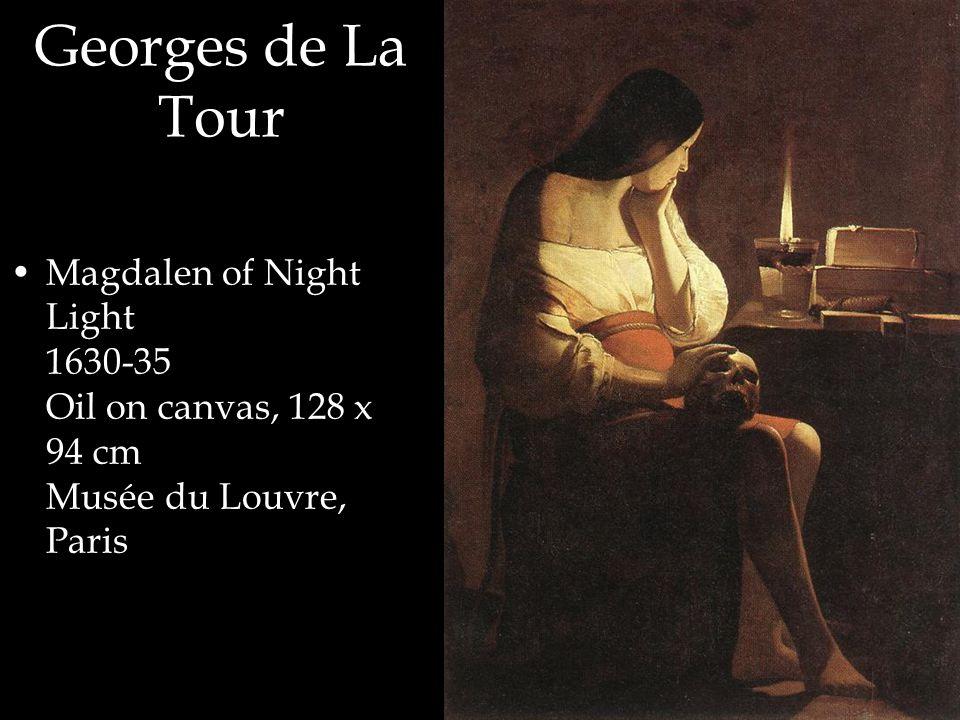 Georges de La Tour Magdalen of Night Light 1630-35 Oil on canvas, 128 x 94 cm Musée du Louvre, Paris