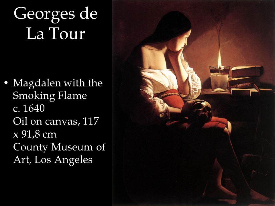Georges de La Tour Magdalen with the Smoking Flame c.