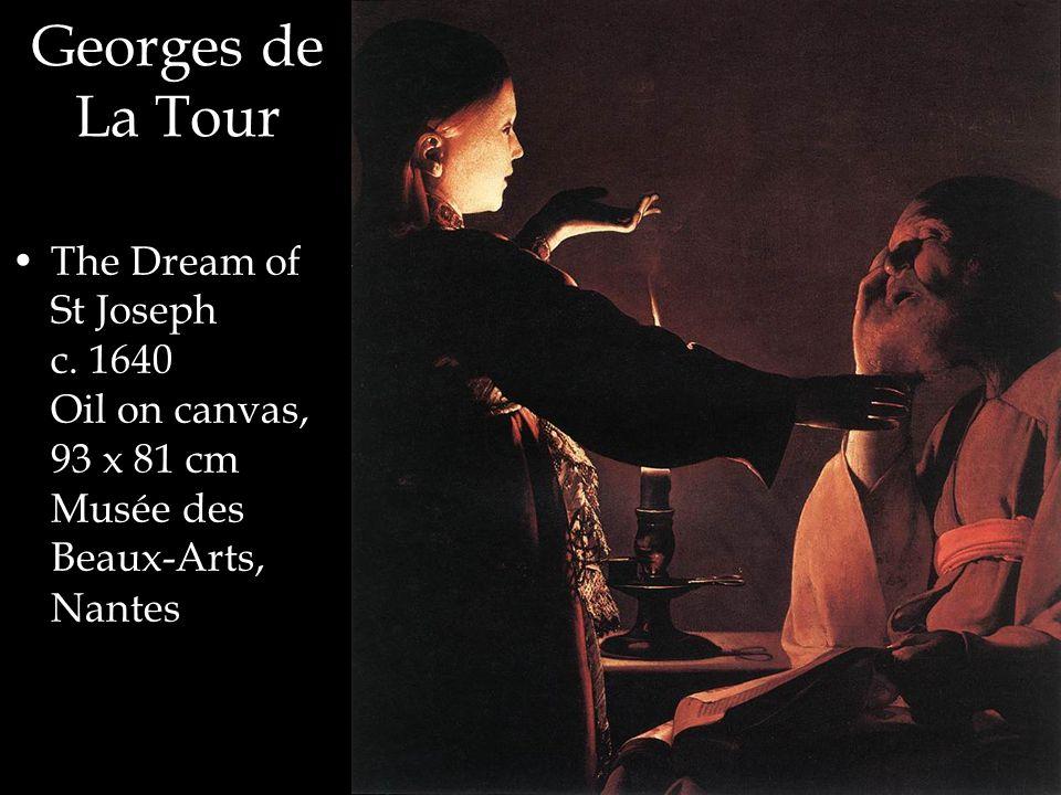 Georges de La Tour The Dream of St Joseph c.