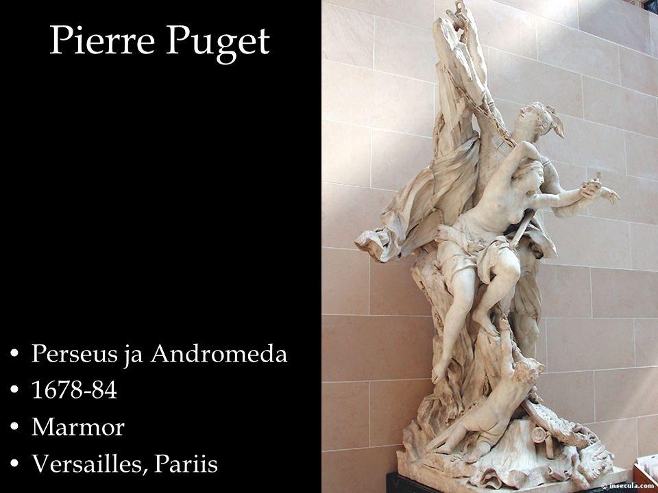 Perseus ja Andromeda 1678-84 Marmor Versailles, Pariis
