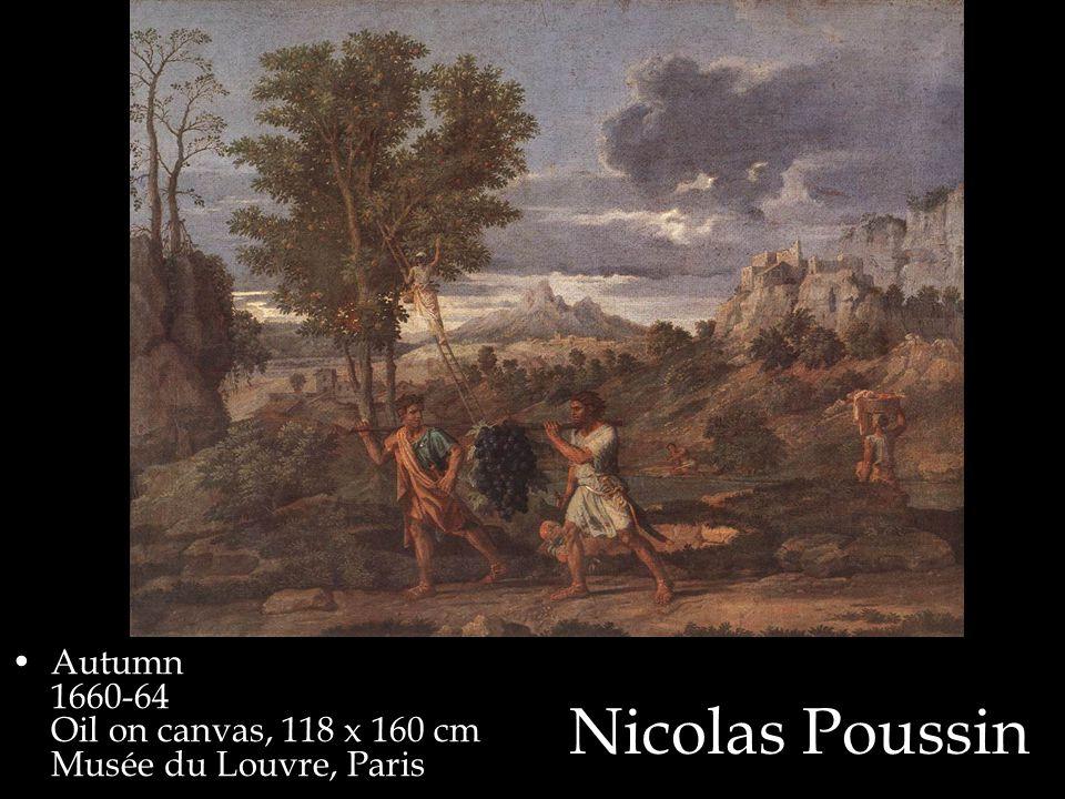 Nicolas Poussin Autumn 1660-64 Oil on canvas, 118 x 160 cm Musée du Louvre, Paris