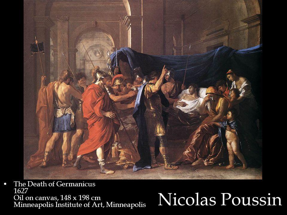 Nicolas Poussin The Death of Germanicus 1627 Oil on canvas, 148 x 198 cm Minneapolis Institute of Art, Minneapolis
