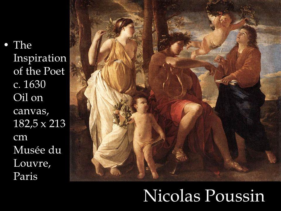 Nicolas Poussin The Inspiration of the Poet c.