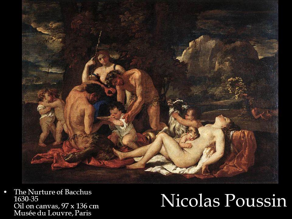 Nicolas Poussin The Nurture of Bacchus 1630-35 Oil on canvas, 97 x 136 cm Musée du Louvre, Paris