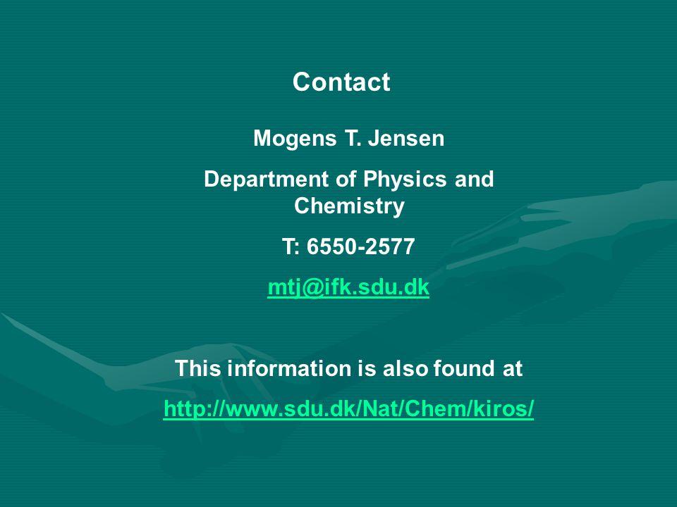 Contact Mogens T.