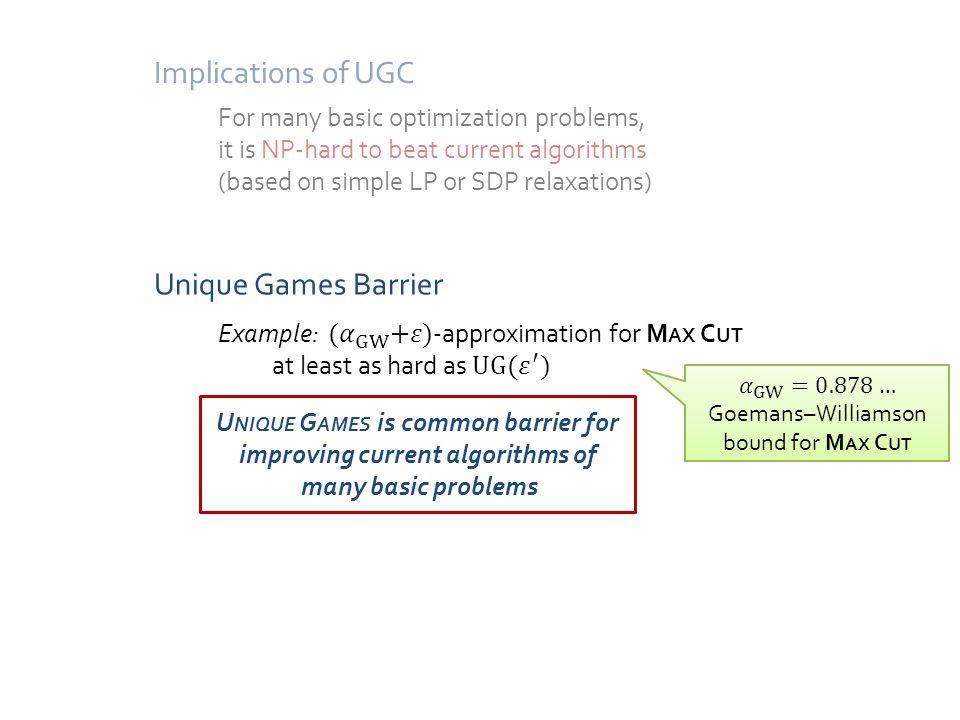 Subexponential Algorithm for Unique Games Time vs Approximation Trade-off