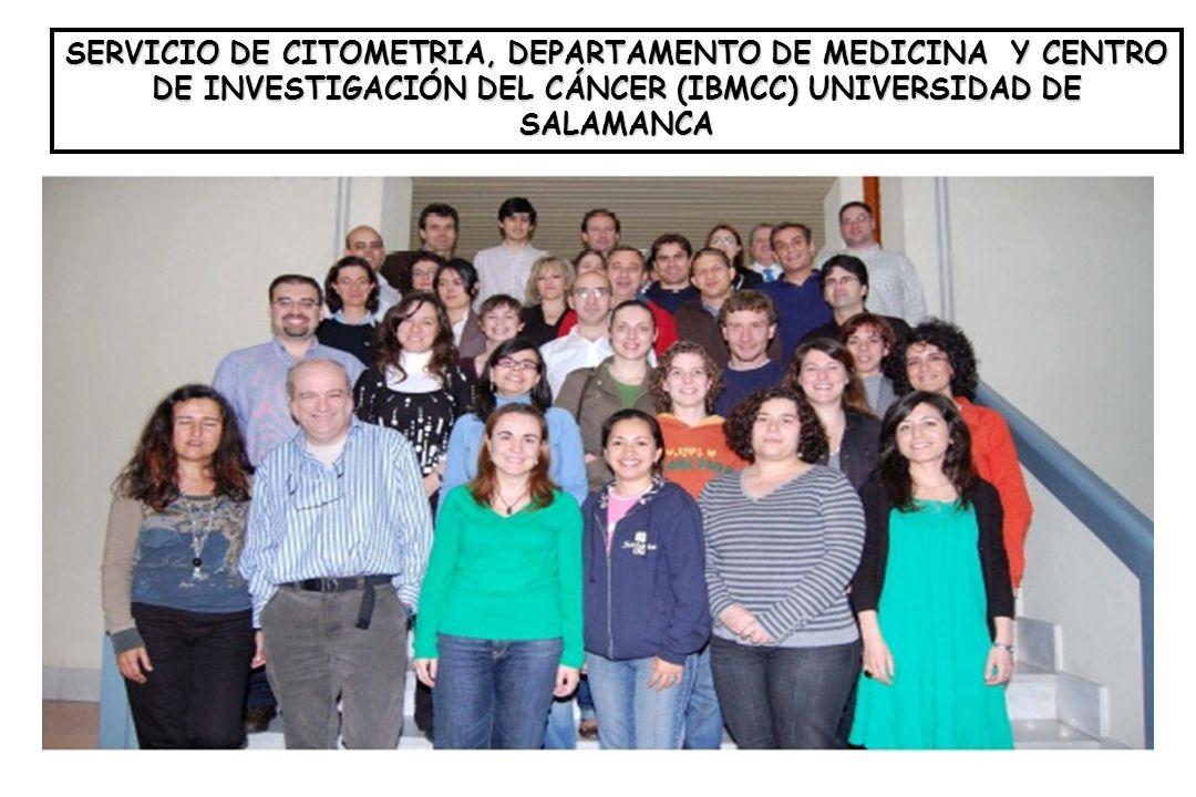 SERVICIO DE CITOMETRIA, DEPARTAMENTO DE MEDICINA Y CENTRO DE INVESTIGACIÓN DEL CÁNCER (IBMCC) UNIVERSIDAD DE SALAMANCA