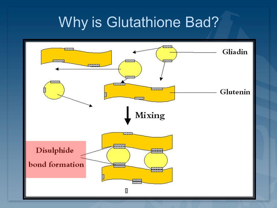 Why is Glutathione Bad?Why is Glutathione Bad?