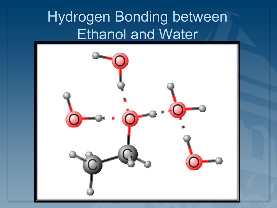 Hydrogen Bonding between Ethanol and Water