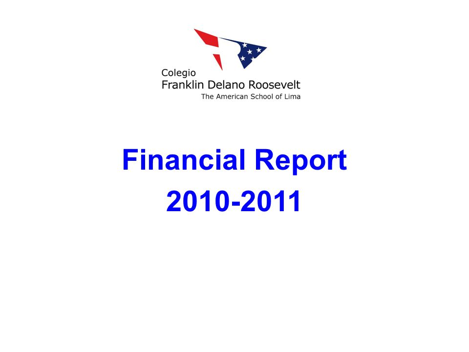 Financial Report 2010-2011