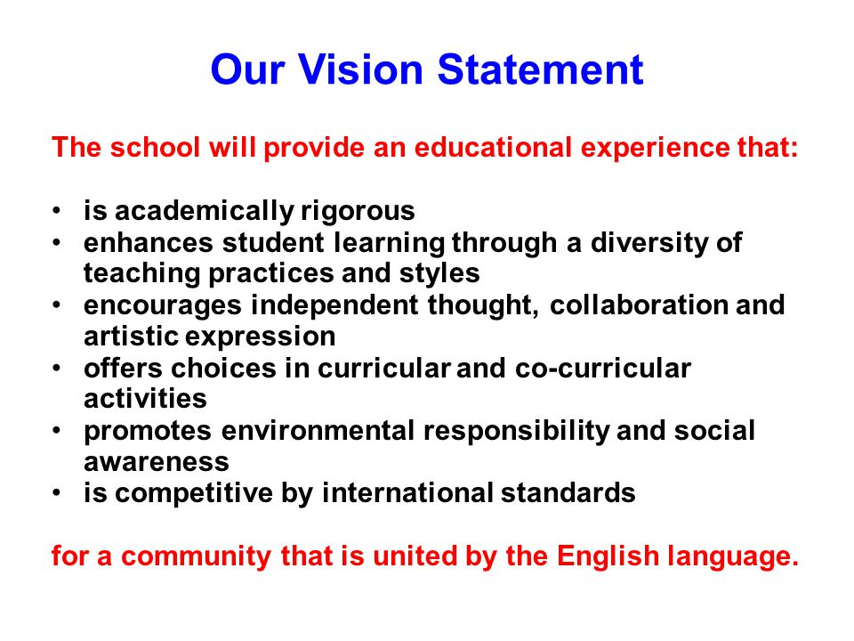 Our Core Values Colegio Roosevelt believes that: Embracing diversity sustains and enriches life.