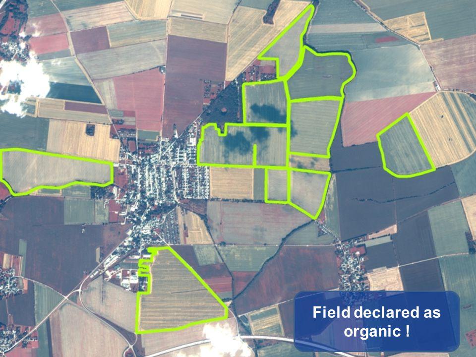 Field declared as organic !