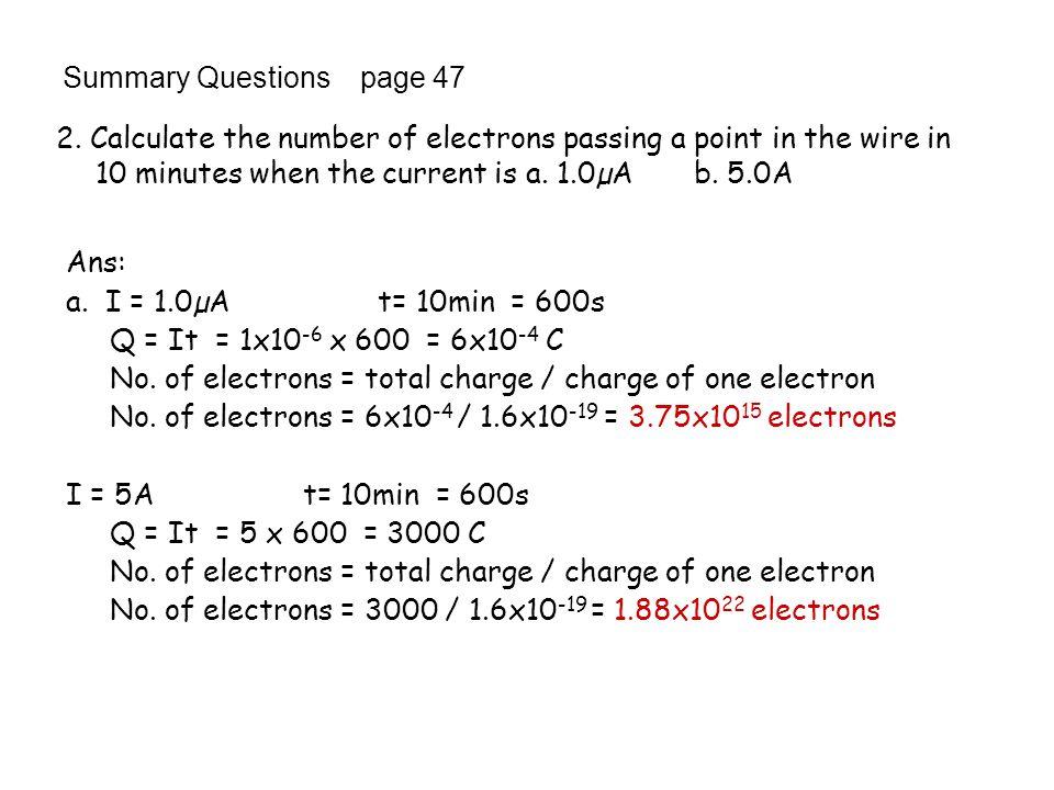 An example question: V1V1 V2V2 6V 3A A1A1 A2A2 V3V3 A3A3