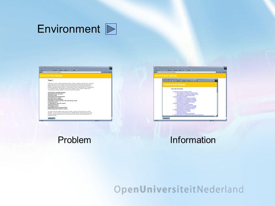 Environment ProblemInformation