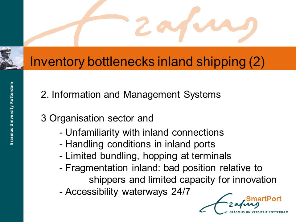 SmartPort Inventory bottlenecks inland shipping (2) 2.