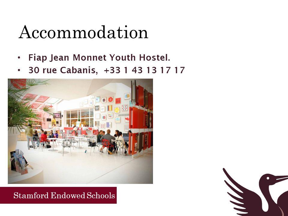 Stamford Endowed Schools Tuesday 21 st October Basilique du Sacré Cœur Time for coffee in the Artist quarter of Paris Return the Jean Monnet for lunch