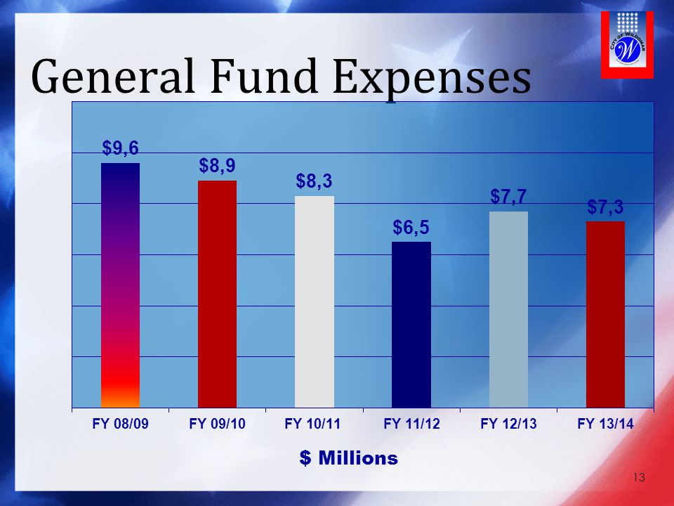 General Fund Expenses 13