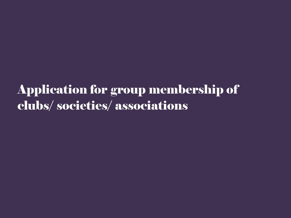 Click on any clubs/ societies/ associations of your interest for further details of the particular clubs/ societies/ associations