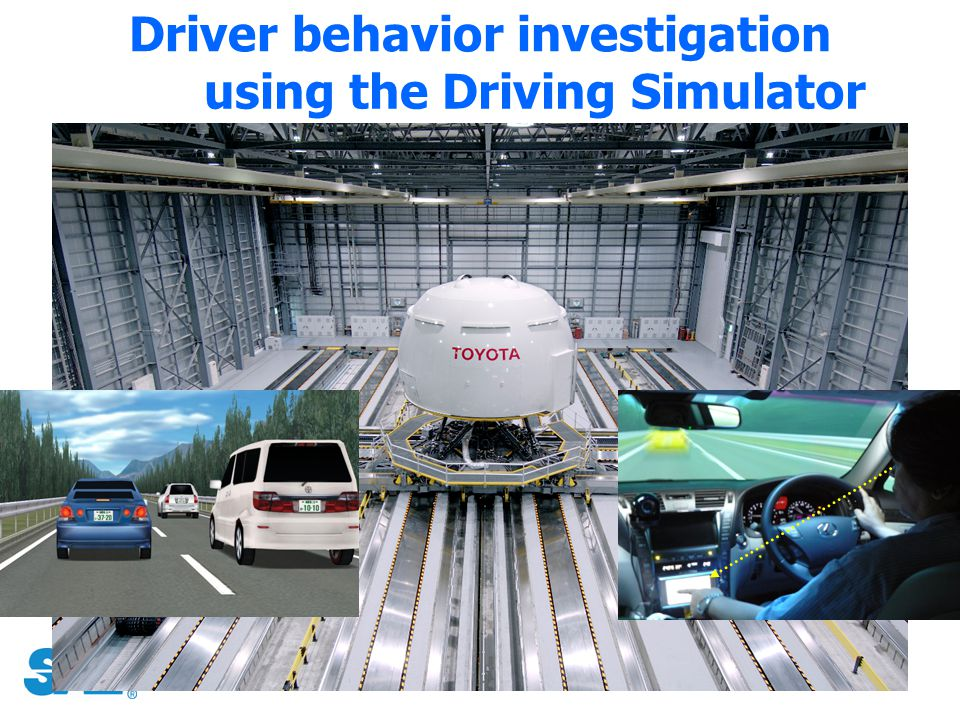 Driver behavior investigation using the Driving Simulator