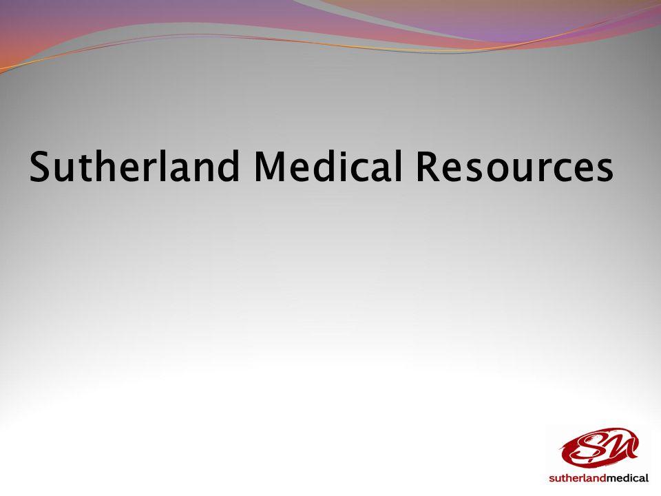 Sutherland Medical Resources