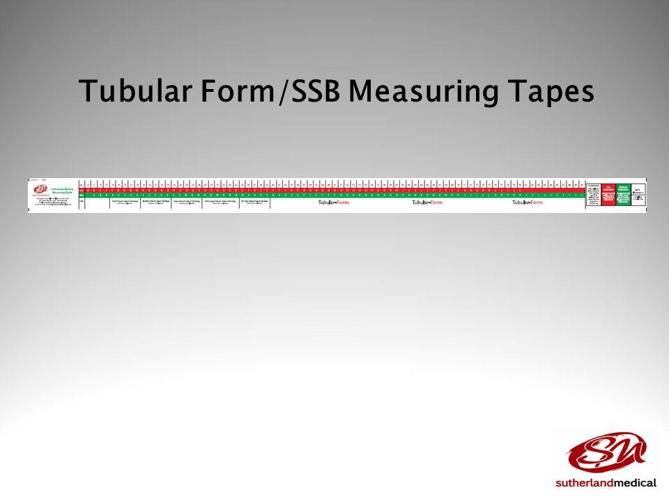 Tubular Form/SSB Measuring Tapes