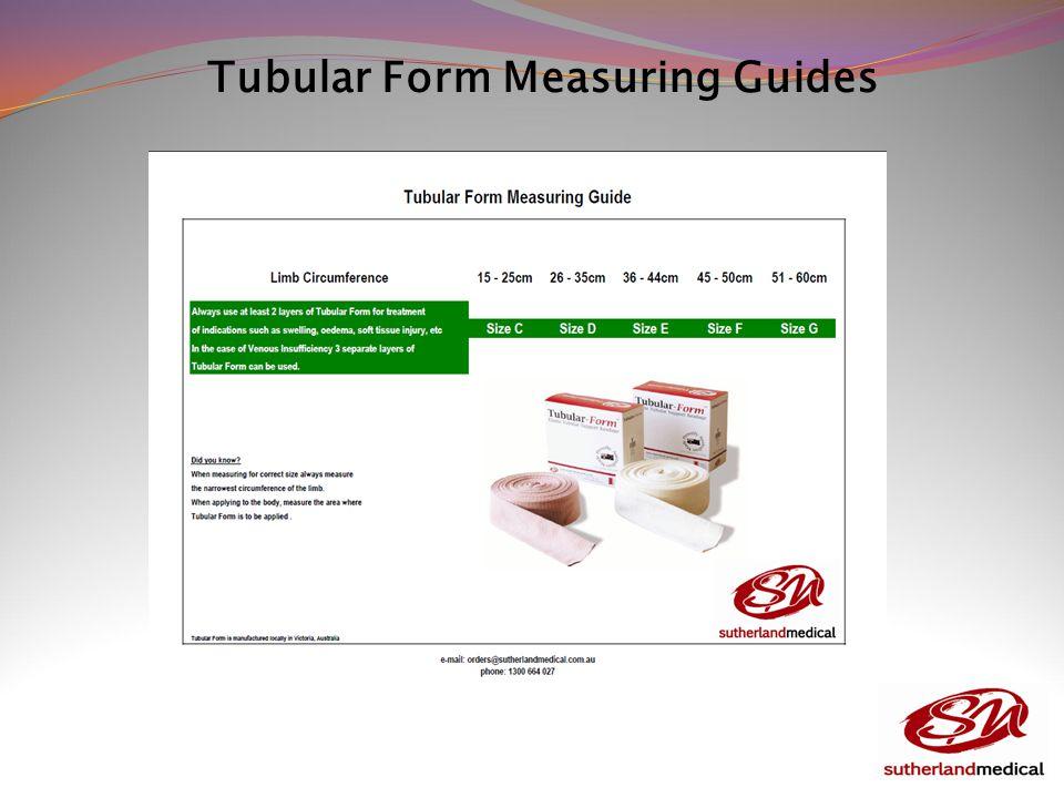 Tubular Form Measuring Guides