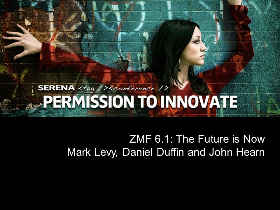 ZMF 6.1: The Future is Now Mark Levy, Daniel Duffin and John Hearn
