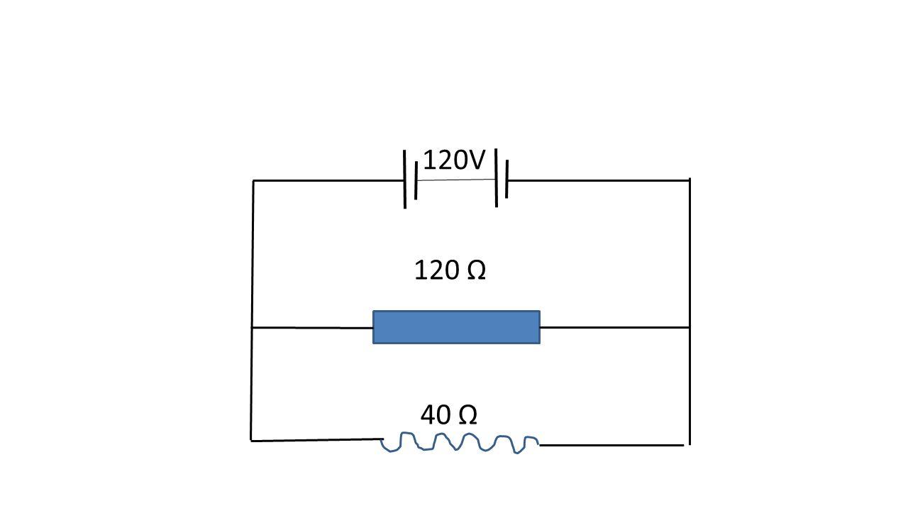 120V 120 Ω 40 Ω