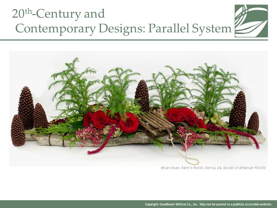 Copyright Goodheart-Willcox Co., Inc. May not be posted to a publicly accessible website. 20 th -Century and Contemporary Designs: Parallel System Bry