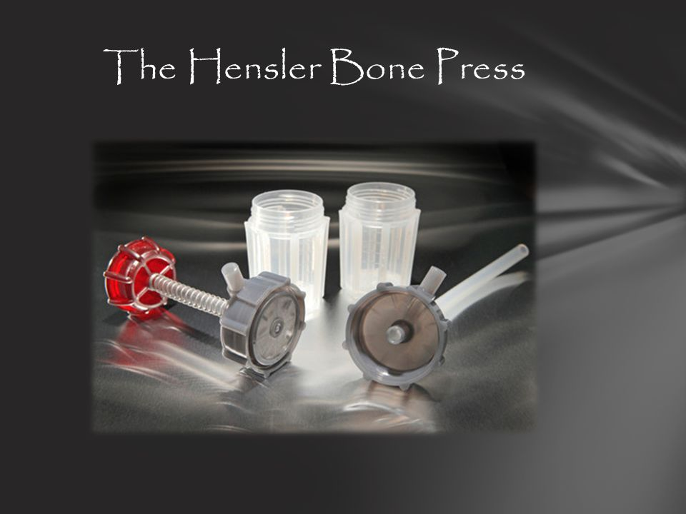 The Hensler Bone Press