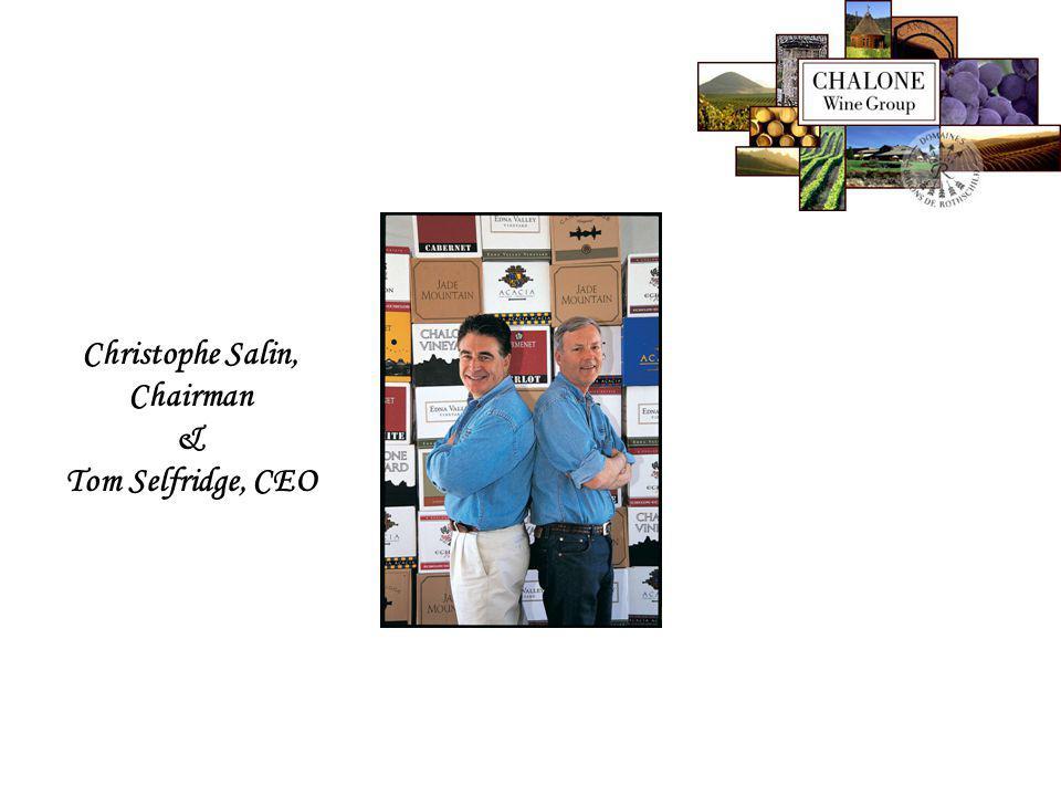 Christophe Salin, Chairman & Tom Selfridge, CEO