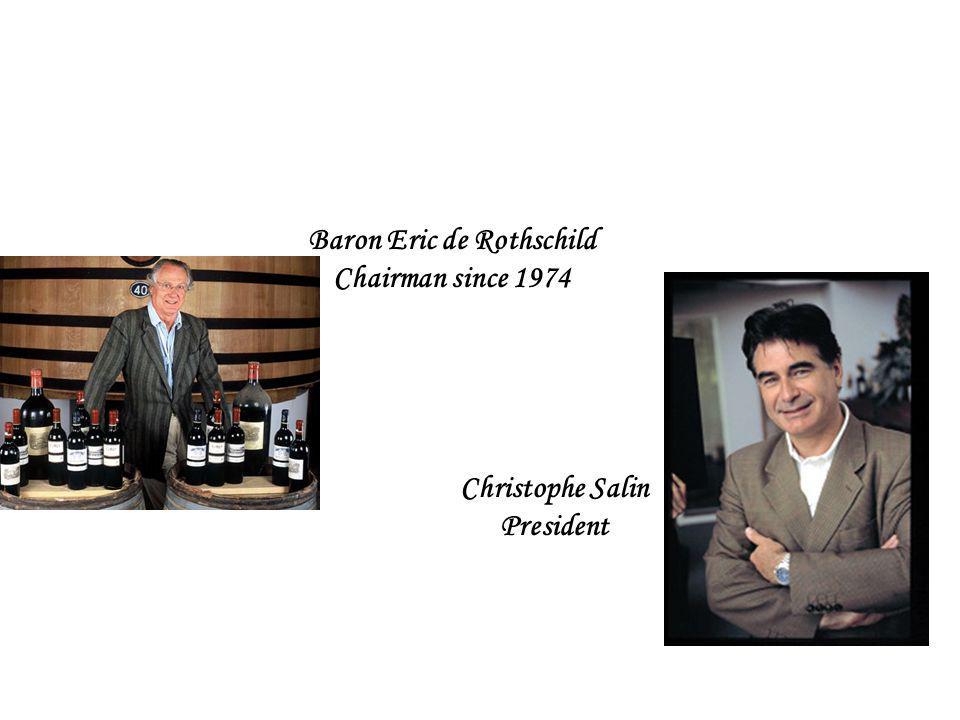 Baron Eric de Rothschild Chairman since 1974 Christophe Salin President