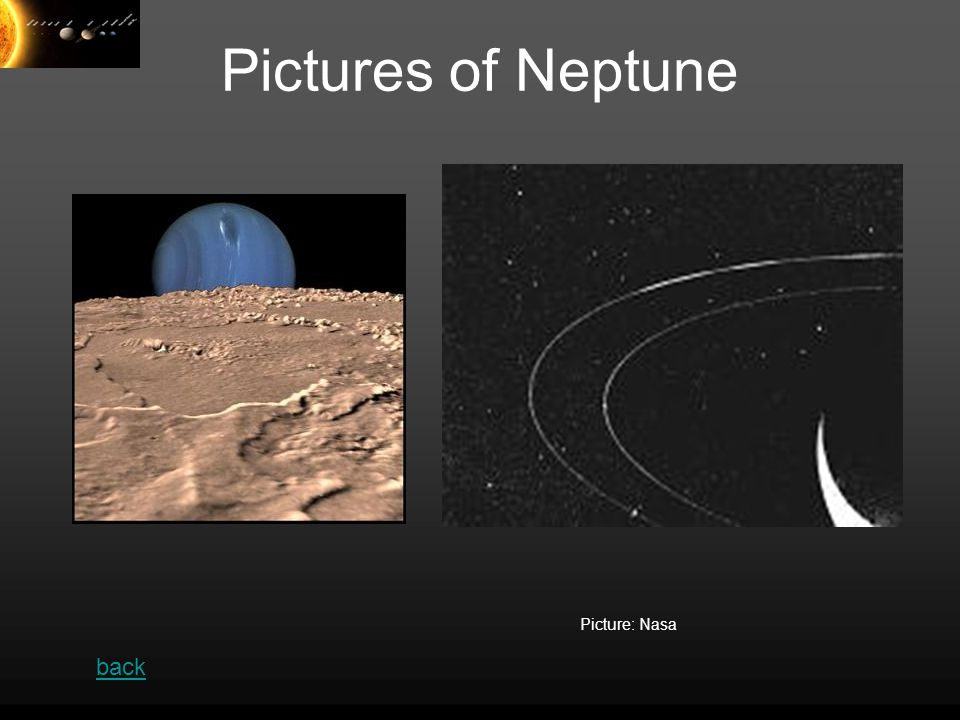 Pictures of Neptune Picture: Nasa back