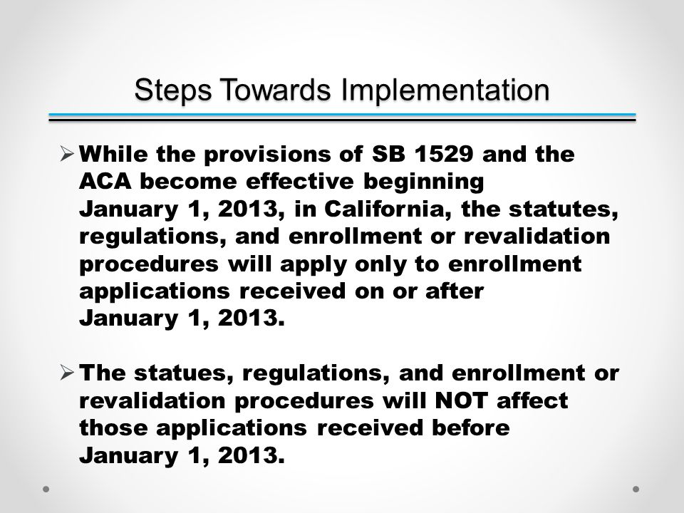 PED Affordable Care Act (ACA) Implementation QUESTIONS?