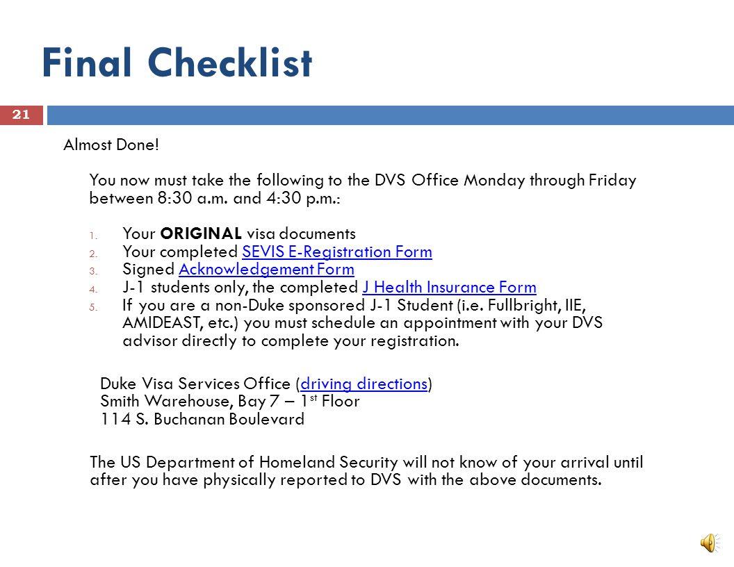 International House □ Visa Services website Visa Services website □ International House website International House website 20